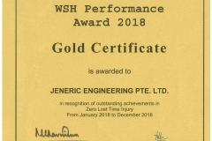 WSH Award 2019_JENERIC ENGINEERING PTE LTD