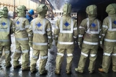 High Pressure Protective Suit